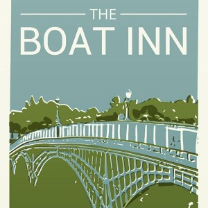 The Boat Inn, Chepstow pub sign