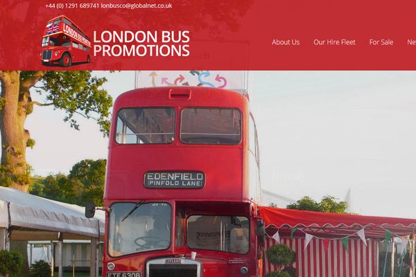 london bus promotions 1