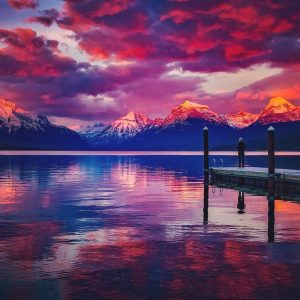 Missing Lake McDonald