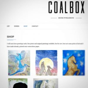 Decided to finally try selling my art. www.coalbox.co.uk