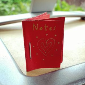 A tiny notebook from my Niece